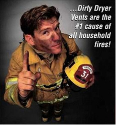 Dryers cause fires
