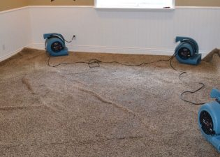 How Do You Deal With Wet Carpets