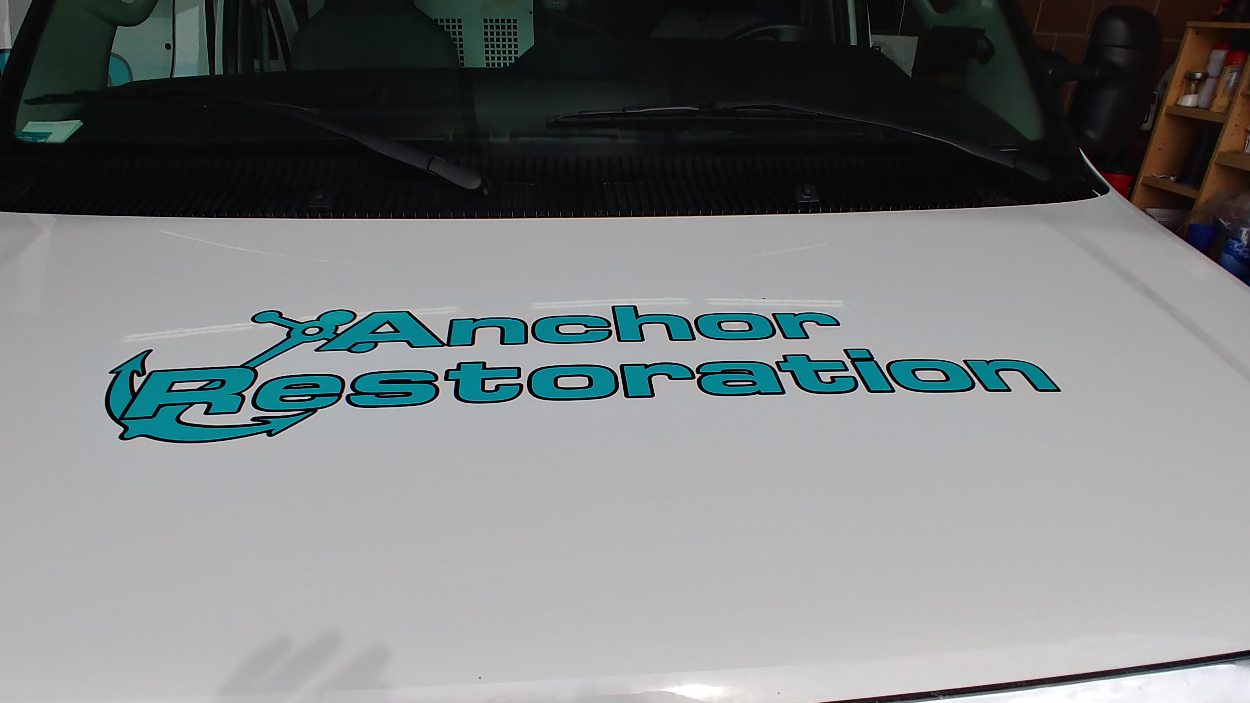anchor restoration draper van