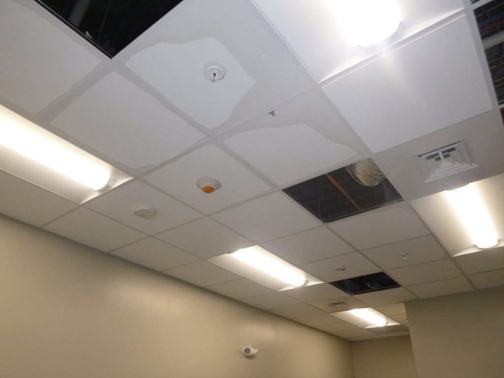 ceiling water damage restoration in west jordan ut