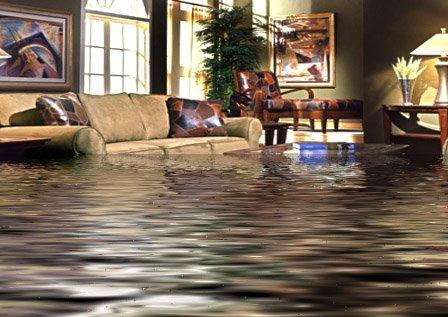 residential house flood damage